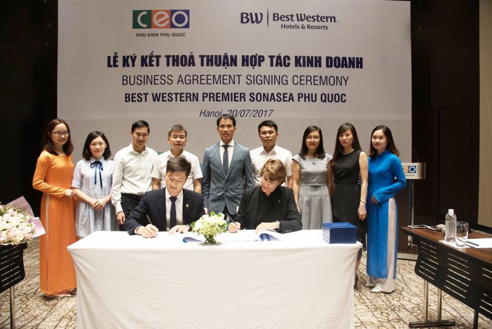 Tập đoàn CEO lựa chọn thương hiệu Best Wersten cho dự án 5 sao Sonasea Condotel & Villas tại Phú Quốc
