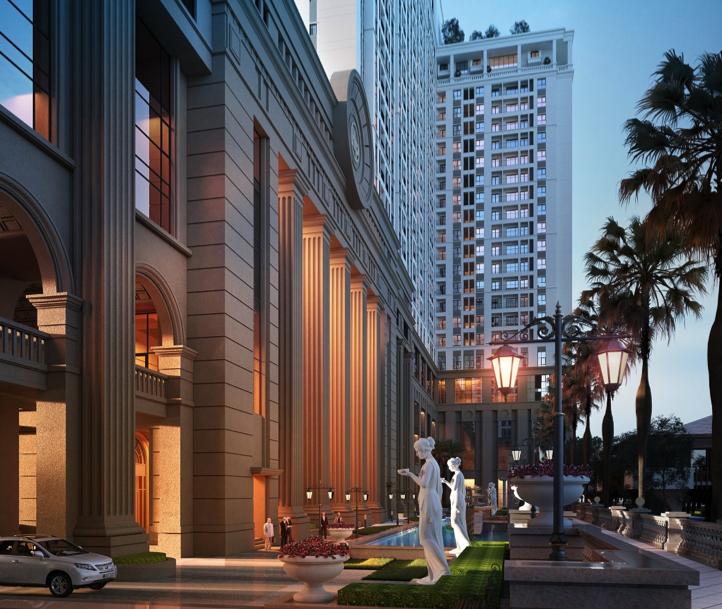 Dự án mang phong cách Tân cổ điển Châu Âu tại Hà Nội dần hé lộ