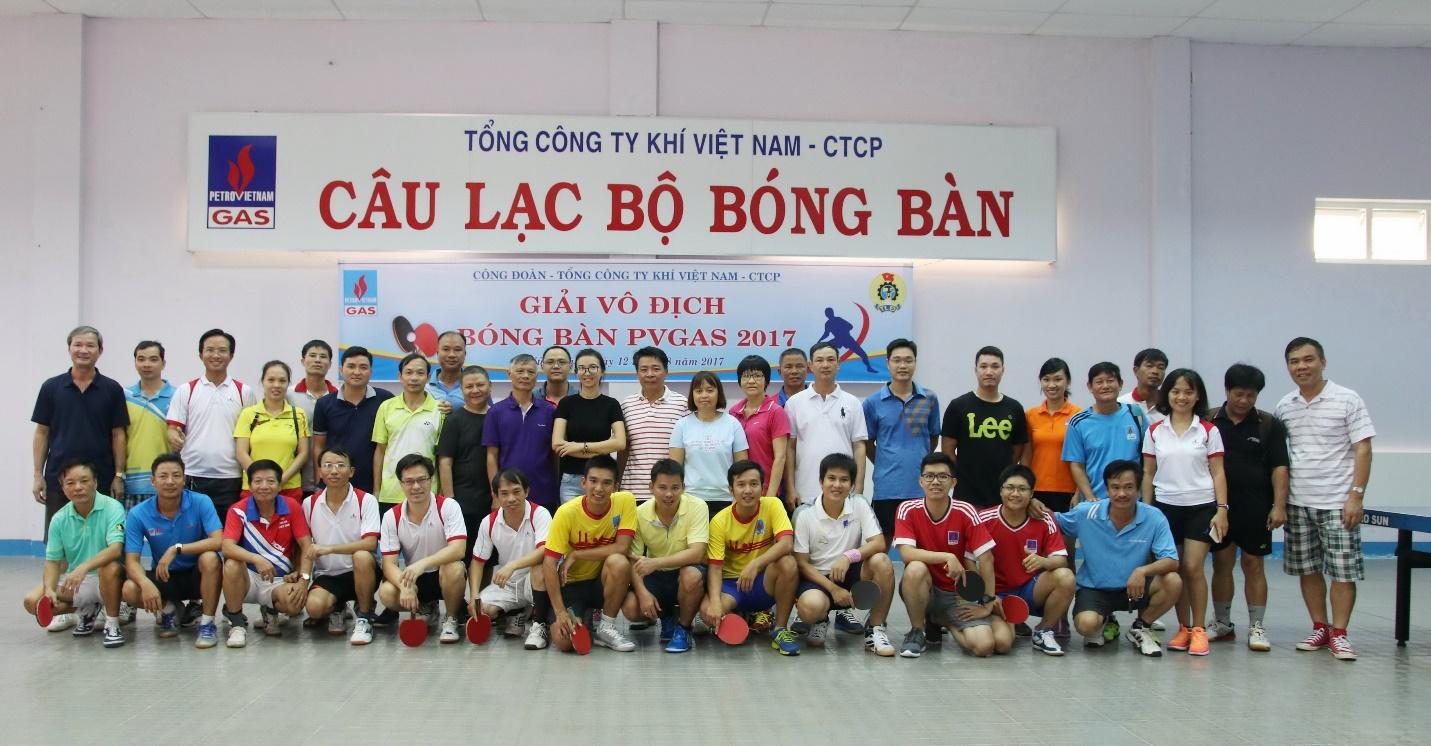 Các hoạt động thể thao chào mừng Đại hội Công đoàn PV GAS