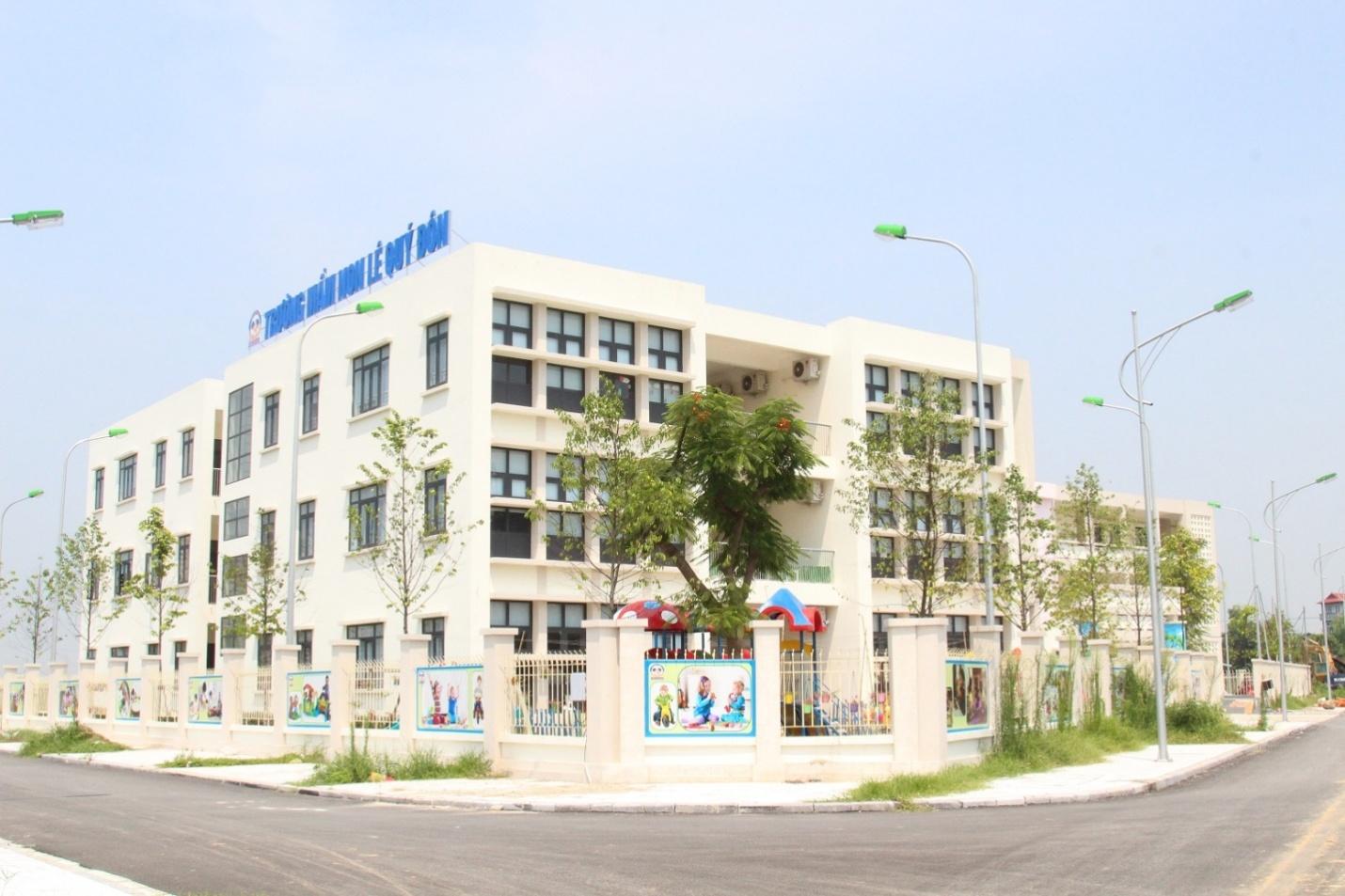 Hà Nội có thêm hệ thống trường học liên cấp đạt chuẩn, hiện đại phía Tây Thủ đô
