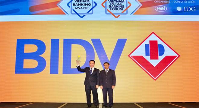 Ấn tượng BIDV trong hoạt động Ngân hàng bán lẻ năm 2017