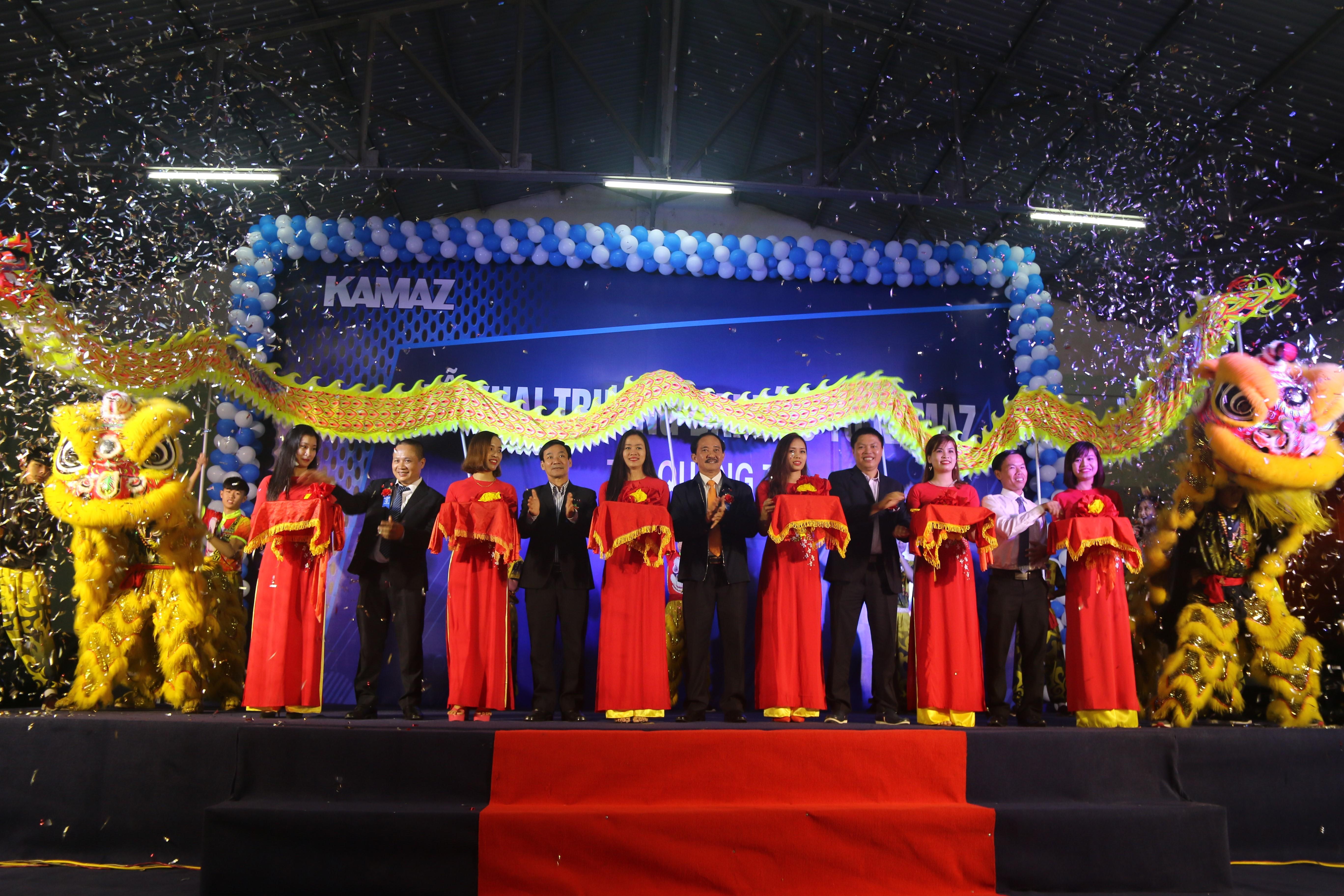 Khánh thành và khai trương Showroom ô tô Kamaz tại Quảng Trị