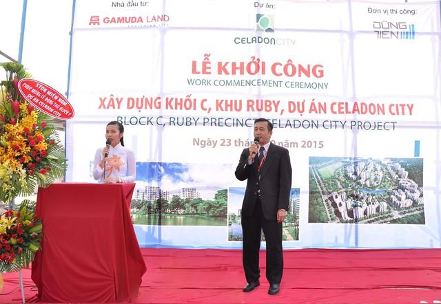 Block C Khu Ruby Celadon City đã hoàn thiện phần móngvà tiếp tục được khởi công xây dựng vào ngày 23.09.2015