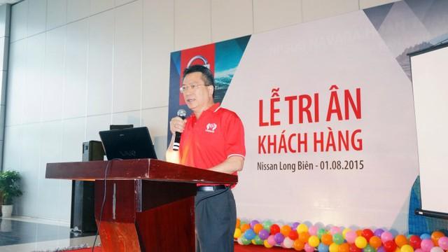Ông Teh Kim Hwa– Giám đốc thương mại Nissan Việt Nam