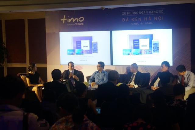 Họp báo ra mắt Dịch vụ Ngân hàng số Timo tại Hà Nội