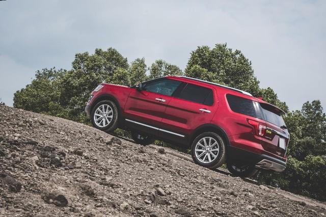 Trải nghiệm khả năng Offroad của Ford Explorer - Ảnh 5.