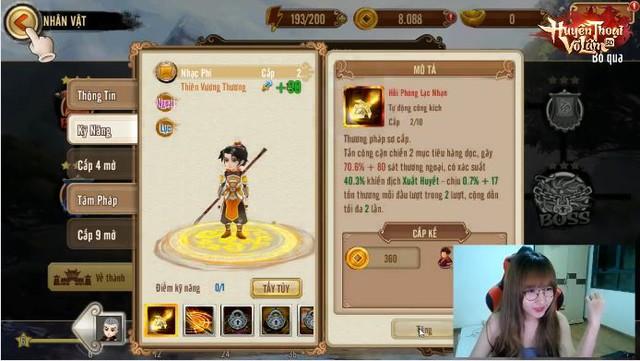 Uyên Pu trải nghiệm game