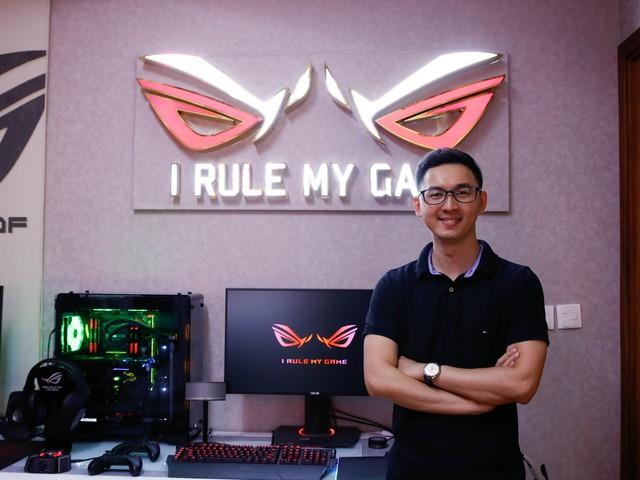 Vĩnh Lộc- game thủ 9X với dàn máy khủng ROG tại gia