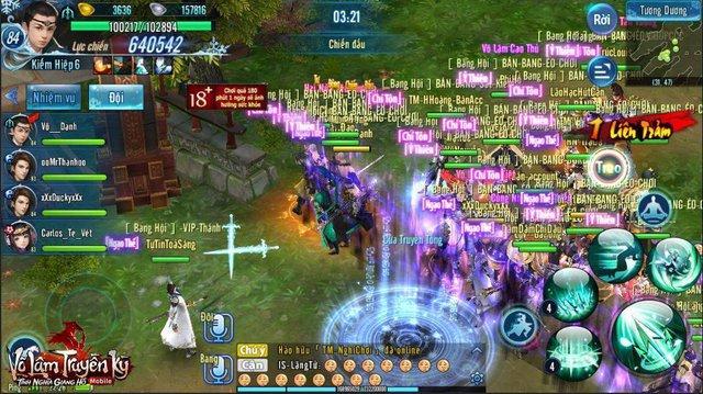 """VLTK Mobile thu hút lượng người chơi """"khủng""""."""