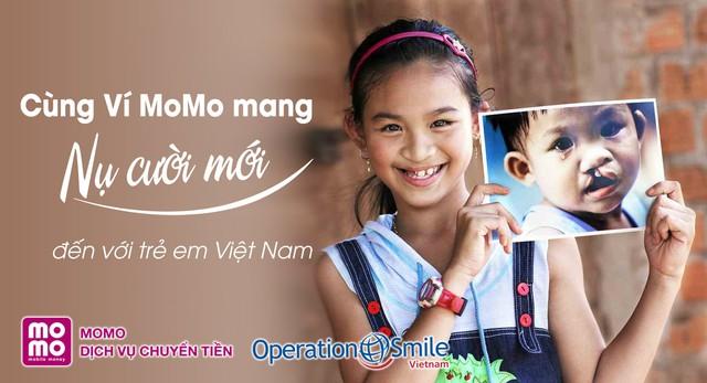 """""""Số tiền nhỏ - Phép màu lớn"""": Cùng MoMo mang lại nụ cười mới"""