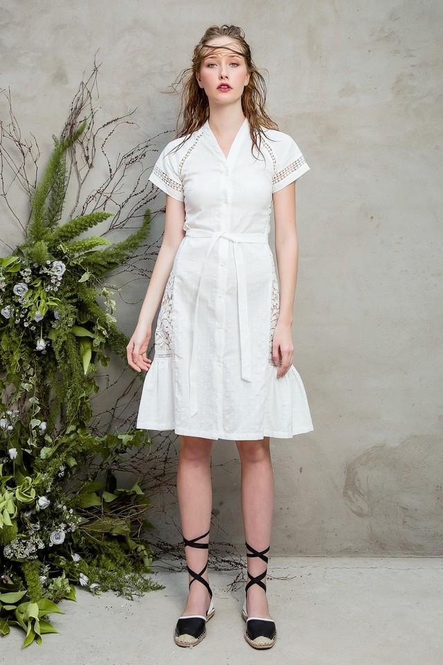 Những chiếc váy ren quyến rũ khó cưỡng lại của hè này - Ảnh 9.