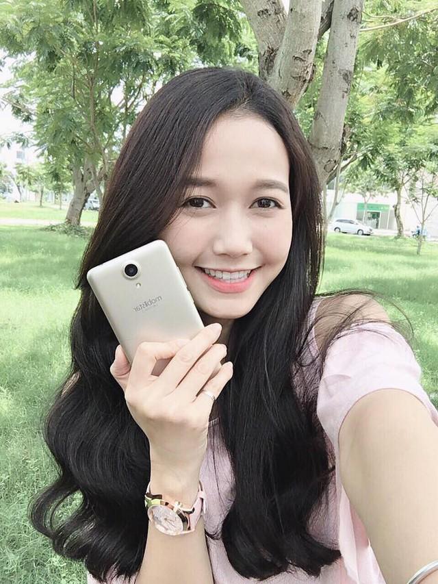 """Hot girl """"trà sữa"""" Kiều Trinh tiết lộ bí quyết """"selfie"""" nghìn like - Ảnh 2."""