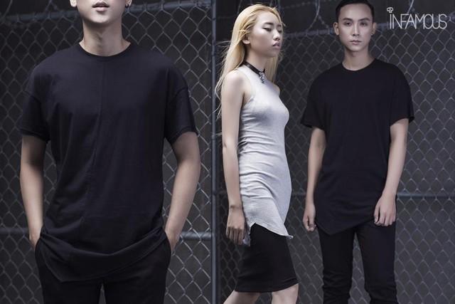 Bỏ qua màu mè rực rỡ, Dark-wear mới là trend hè này - Ảnh 3.