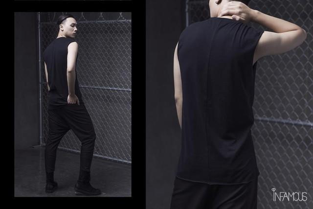 Bỏ qua màu mè rực rỡ, Dark-wear mới là trend hè này - Ảnh 5.