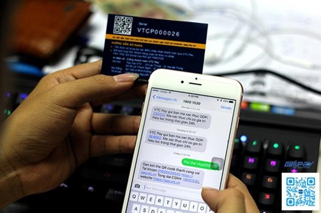 Công nghệ thanh toán QR code của VTC Pay đang được áp dụng cho nhiều hãng taxi, cửa hàng bán lẻ tại Hà Nội