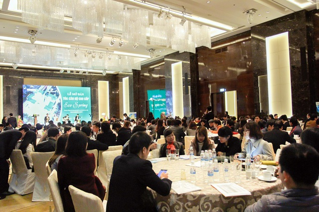 Lễ ra mắt Tòa Eco-Spring thu hút đông đảo khách hàng tham gia