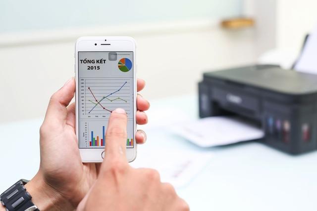 Các tính năng in di động hay in qua điện toán đám mây cho phép người dùng thực hiện lệnh in trực tiếp ngay trên điện thoại di động của mình.