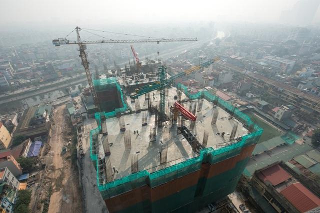 Five Star Garden đã hoàn thành tầng 27 tòa G1,G2 và tầng 14 tòa G3,G4