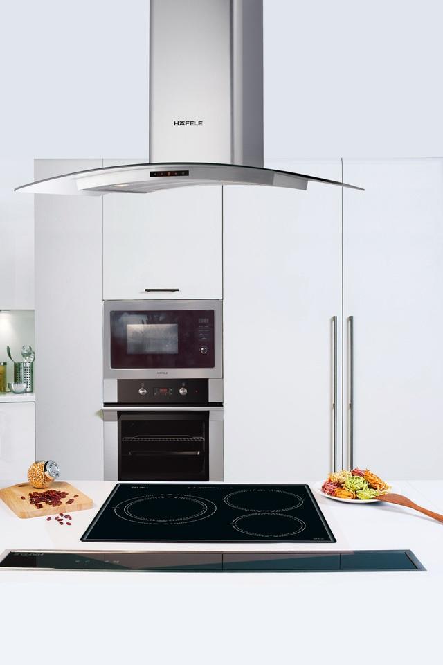 Bộ thiết bị bếp Hafele châu Âu sang trọng