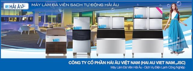 Hải Âu Việt Nam tự hào cung cấp giải pháp máy làm đá viên tinh khiết nhằm đảm bảo an toàn cho sức khỏe người dùng, đồng thời giảm được nguy cơ mắc các bệnh