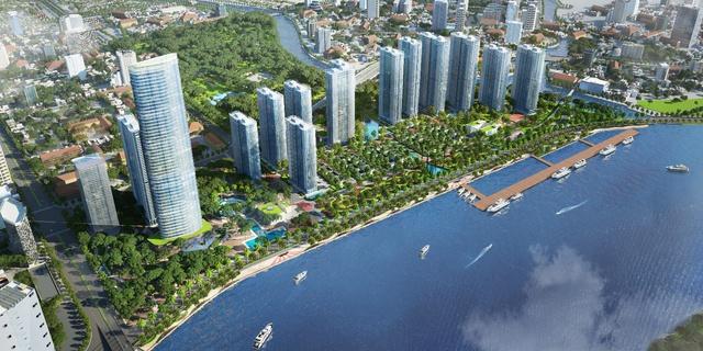 Vinhomes Golden River được hưởng vượng khí dồi dào do dòng sông Sài Gòn mang lại