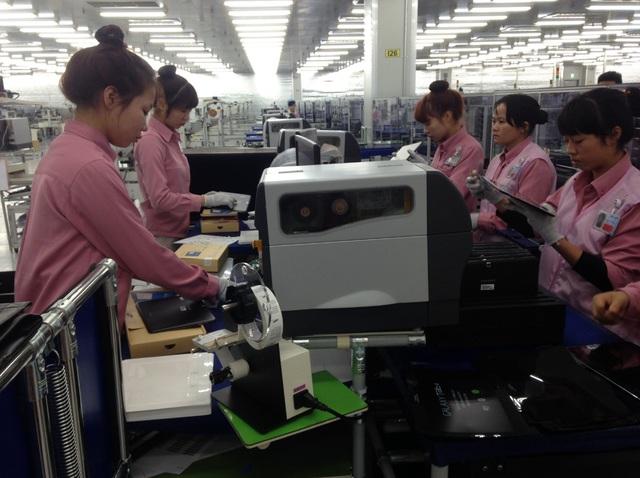 Công ty Ngân Hà hiện là một trong những doanh nghiệp Việt hiếm hoi đang cung cấp phụ trợ cho Samsung từ nhiều năm qua