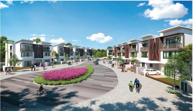 Courtyard Homes – Biệt thự song lập với không gian xanh lên tới 60%