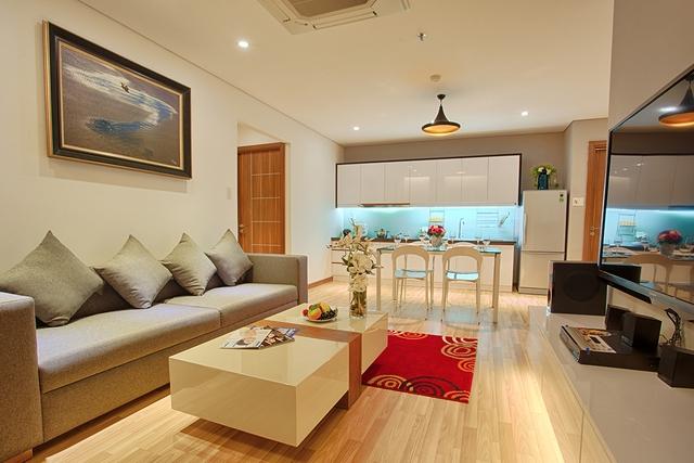 Nội thất sang trọng tại căn hộ Condotel F.Home