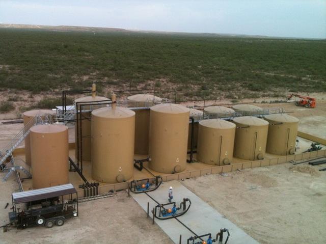 """Dự án """" xây dựng hệ thống xử lý nước thải trong khai thác dầu đá phiến"""" của Trung tâm Khuyến khích Đầu tư Great Southwest tại Austin, Texas"""