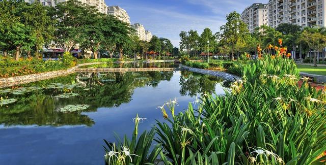 Với mật độ cây xanh cao nhất đô thị, bán đảo xanh Nam Viên được định vị là khu nhà ở cao cấp tại Phú Mỹ Hưng được chủ đầu tư ưu tiên và tập trung phát triển sau cùng nên BĐS khu này có nhiều động lực để tăng giá mạnh trong thời gian tới.