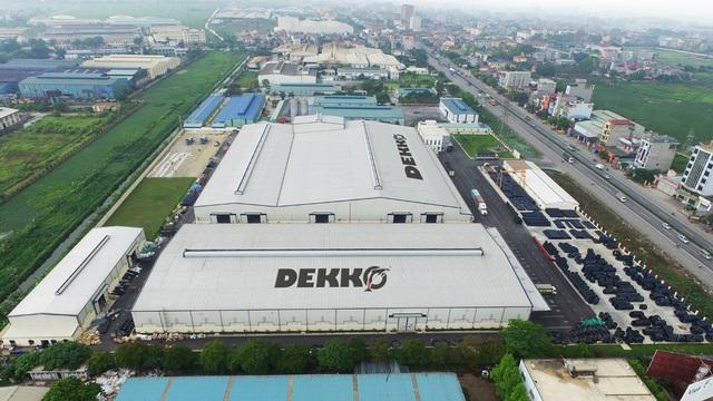 Hình ảnh phối cảnh tổng thể nhà máy nhựa Phúc Hà tại Mỹ Hào – Hưng Yên