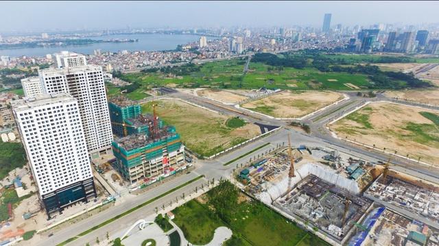 Trục đường 62m, nối Phạm Văn Đồng – Ngoại Giao Đoàn, Tây Hồ Tây – Võ Chí Công chuẩn bị thông xe cuối 2016