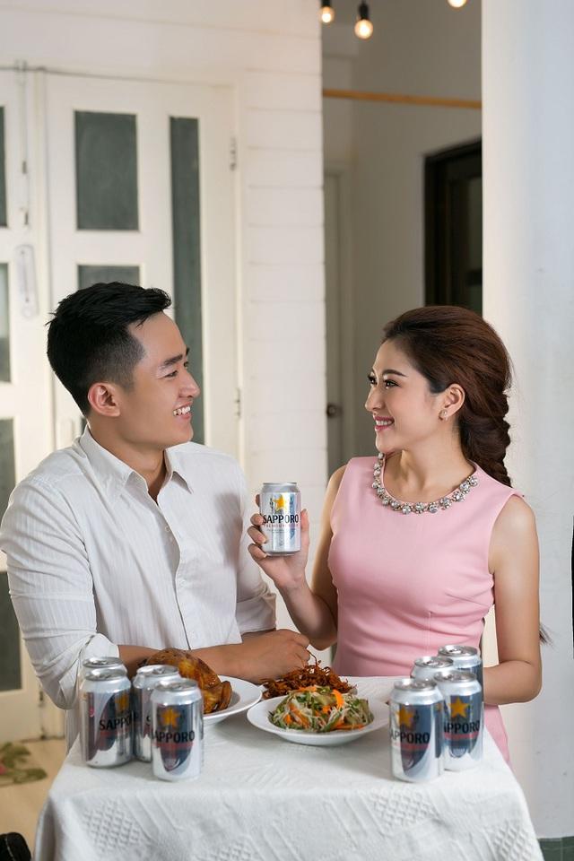 Người tiêu dùng Việt chọn Sapporo Premium Beer để tận hưởng trọn vẹn cuộc vui