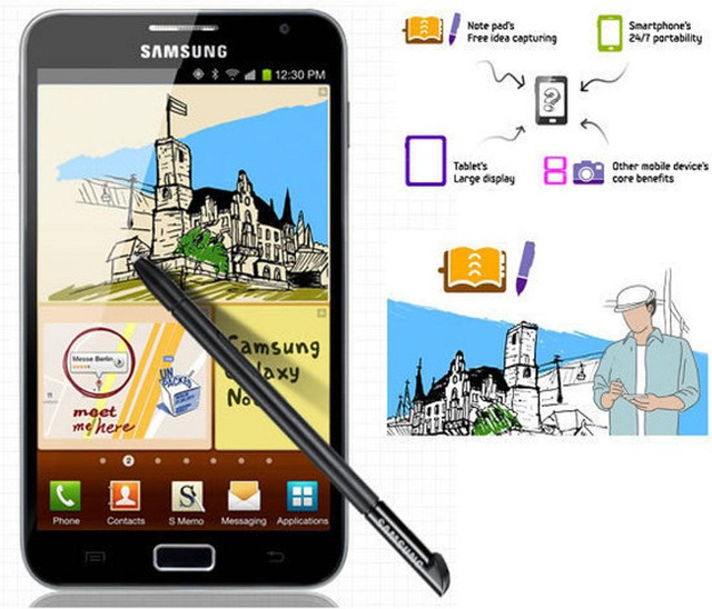 Dòng Galaxy Note là nỗ lực bứt phá các giới hạn về công nghệ của Samsung