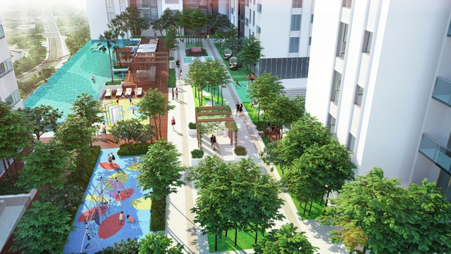 HaDo Centrosa Garden là chốn an cư lý tưởng: mở cửa là vườn, bước chân là phố