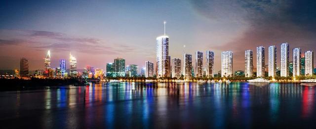 Luxury 6 sở hữu vị trí trung tâm đẹp nhất dự án Vinhomes Golden River, mang đến những góc nhìn panorama toàn thành phố.