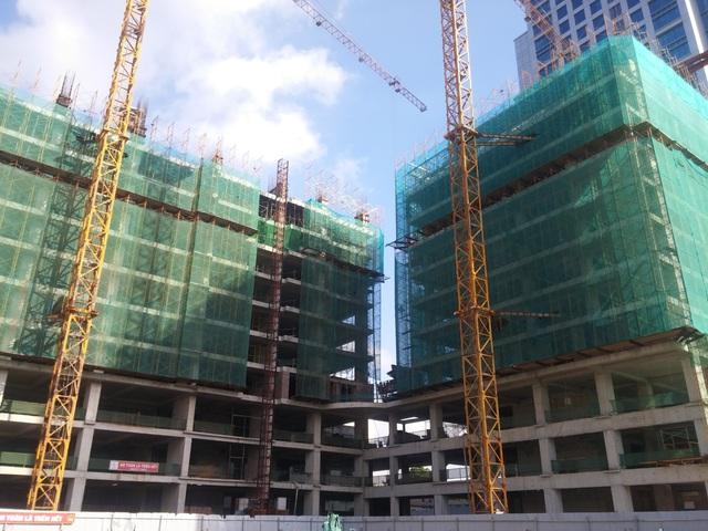 HongKong Tower đã xây xong tầng 10, tiến độ 10 ngày/sàn