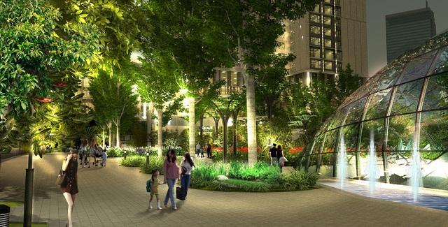 Eco-Green City có hệ sinh thái đậm chất eco