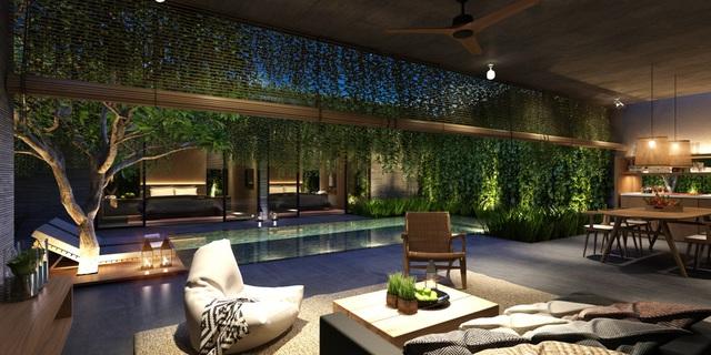 Một căn biệt thự 180m2 của The Coast Villas có giá chỉ từ 4,5 tỉ.