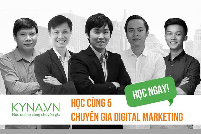 """Hơn 5000 người đang theo học khóa """"Đào tạo Digital Marketer chuyên nghiệp"""". Đăng kí ngay tại đây!"""