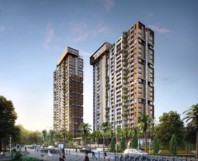 Một trong những điểm nhấn đáng chú ý nhất của dự án này là các tòa Condotel, mô hình căn hộ khách sạn sang trọng đang rất được du khách nước ngoài ưa chuộng hiện nay.