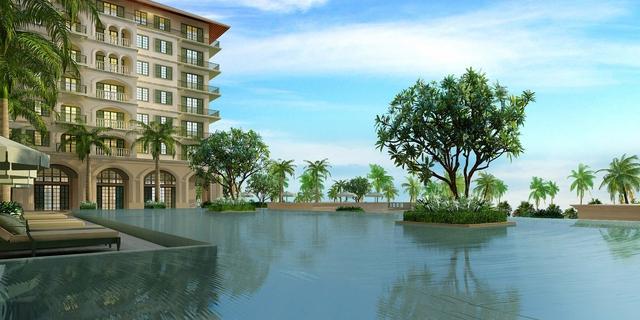 Dự án Fusion Suites Phú Quốc cung sắp được khởi công xây dựng.