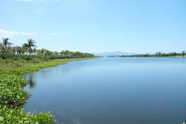 Dòng sông Cổ Cò thơ mộng là nguồn cảm hứng cho các nhà đầu tư bất động sản.