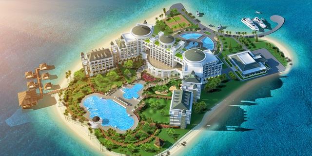 Khu du lịch Vinpearl Hạ Long Bay Resort.