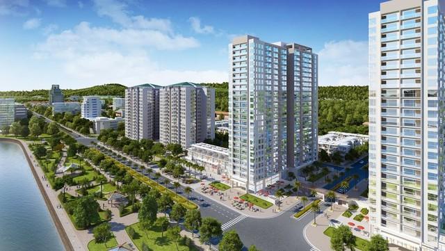 """Điểm nhấn nổi bật của Green Bay Premium mà nhiều dự án khác không có là 100% căn hộ tại đây đều có view """"ôm trọn"""" vịnh Hạ Long."""