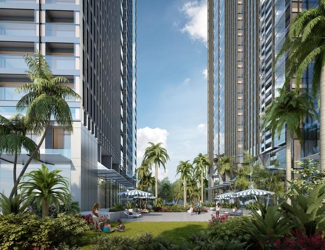 Luxury 6 – Tòa căn hộ có mật độ cây xanh lớn nhất Vinhomes Golden River.