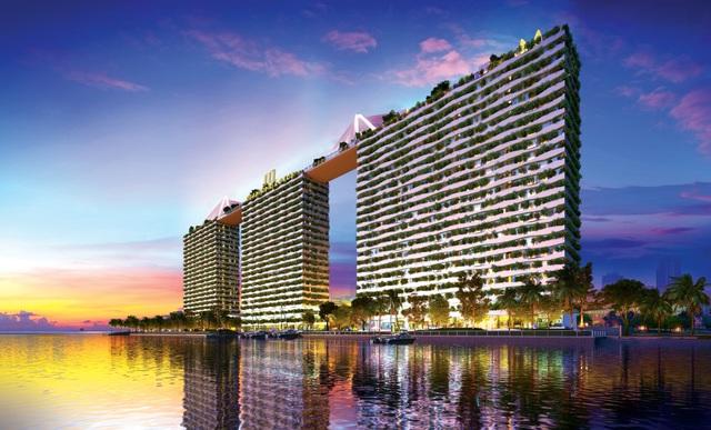 Diamond Lotus Riverside – Dự án căn hộ xanh chính phẩm Mỹ.