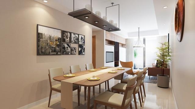 Các căn hộ view sông Hồng có thiết kế ấn tượng, hài hòa với cảnh sắc thiên nhiên.