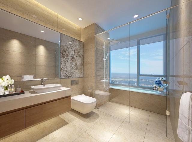 Mỗi phòng tắm tại Vinhomes Metropolis là một không gian thư giãn đẳng cấp của chủ nhân.