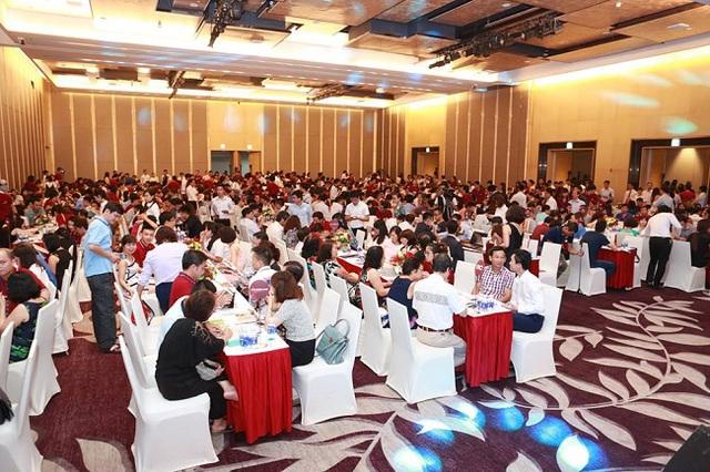 Lễ ra mắt Vinhomes Metropolis thu hút rất nhiều lượt khách tham dự và đăng ký đặt mua.